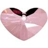 Crazy 4 U Heart 37mm Antique Pink Crystal